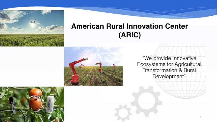 American Rural Innovation Center